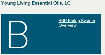 young living review bbb rating