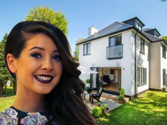zoella zoe sugg house youtube