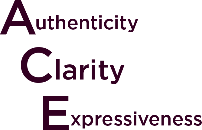 authenticity clarity expressiveness - connell barrett dating coach