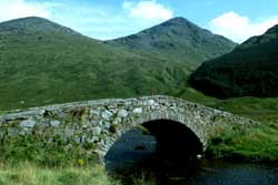 a scene from Joyce Country in Connemara County Galway