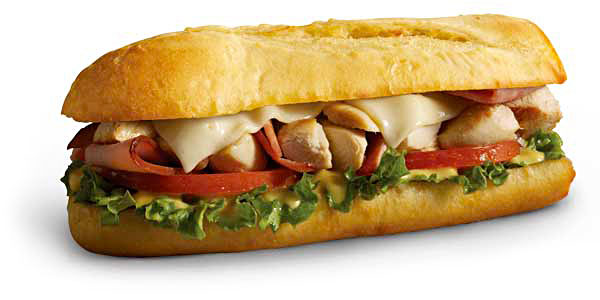 Chicken Cordon Bleu Sub