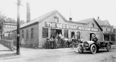 The original Stant Manufacturing building.