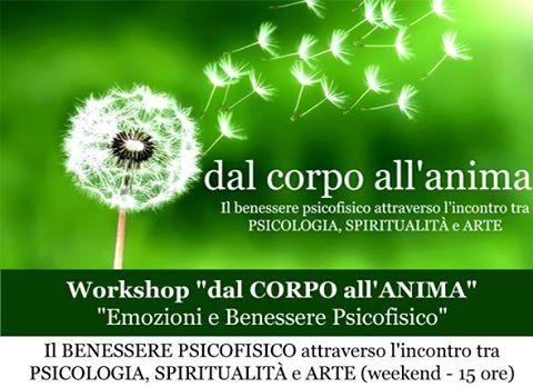 "Workshop ""dal Corpo all'Anima"""