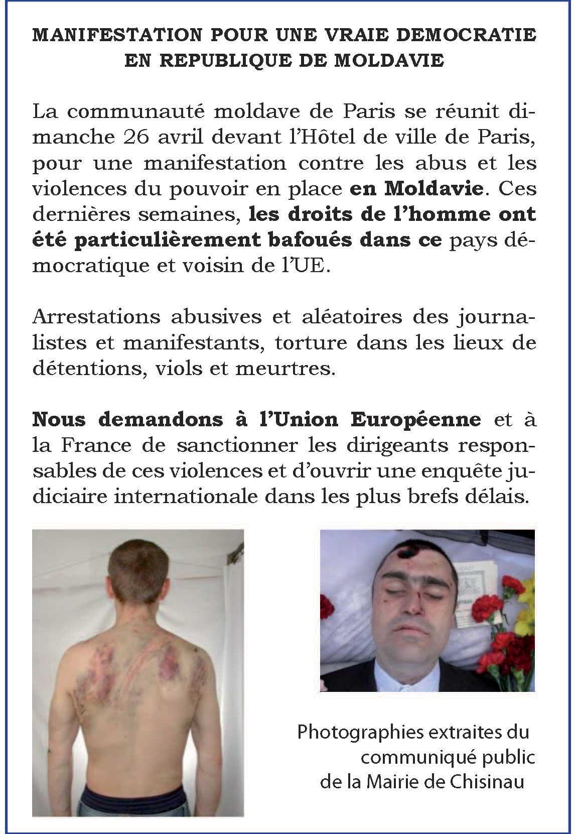 manifest Paris
