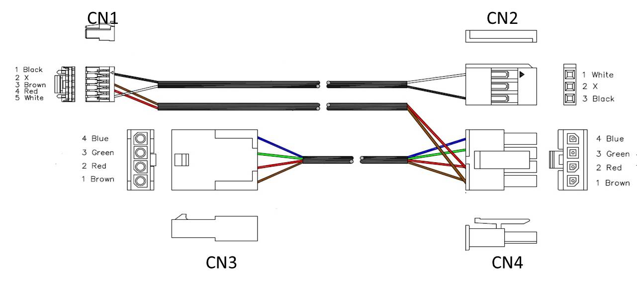 CANBUS/S.BUS cable pinout