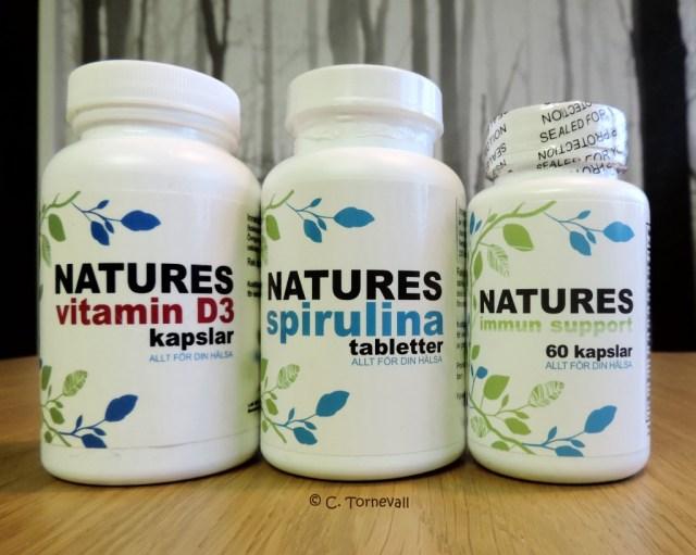 05 Piller Immunförsvaret Vitamin D3 Spirulina Immunsupport
