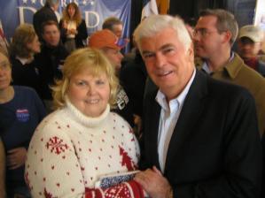 Connie Wilson and Cristopher Dodd