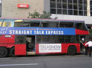 Straight Talk Express Buss