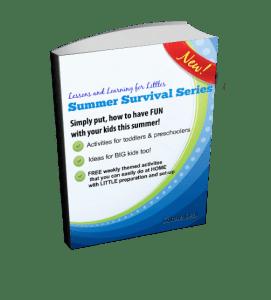 Toddler and Preschooler Summer Activities