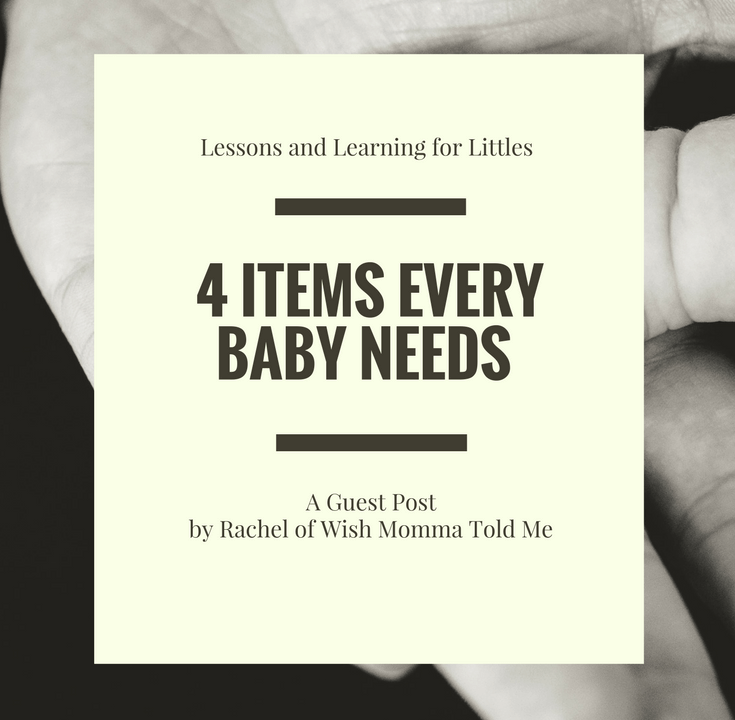 It can be difficult to know what to buy a new mom or what gift to get for a baby shower. Here are 4 key items that every baby needs.