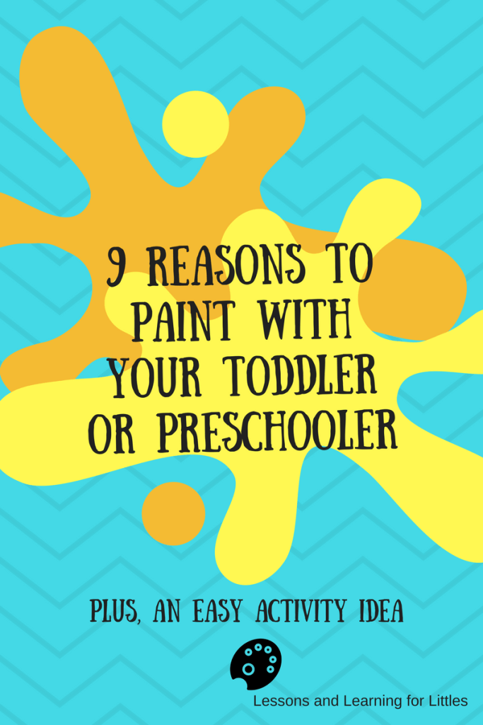 The thought of a toddler painting can be a bit overwhelming. But, it's great for their development. Toddler painting crafts and activities are great learning opportunities!