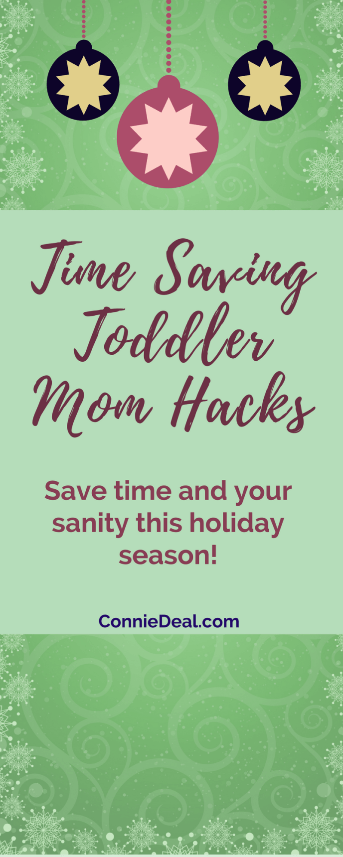 You spent a lot of time and effort getting your toddler or preschooler in a routine. Don't let that fall apart with all the festivities this holiday season! Learn how to maintain your toddler's schedule and make your holiday season go more smoothly. #holidays #toddlerschedule #toddlermom #toddler