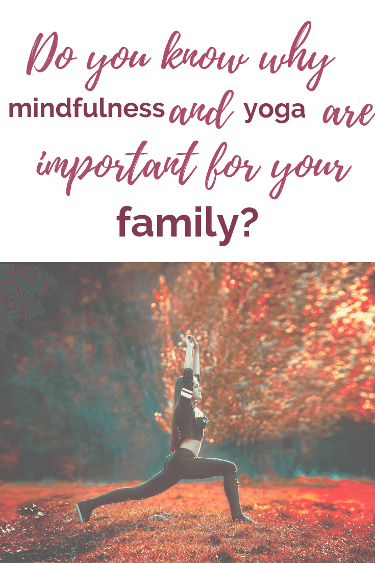 Are you looking for a calmer, more peaceful home? Yoga can help! Yes, doing #familyyoga is a great way to add calmness and bonding time to your daily #routine. Find out more in this post! #screenfreekids #yoga #midnfulness #kidsyoga