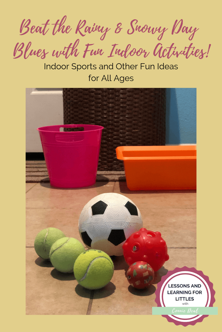 Fun Indoor Activities the Whole Family can Enjoy! #lessonsandlearningforlittles #rainyday #preschool #homeschool