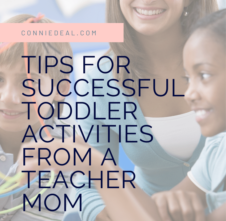 How do I make it easier to do fun, but messy, activities with my toddlers and preschoolers? Find out my exact system to make setting up, doing, and cleaning up activities easier and more enjoyable! #toddleractivities, #messyplay
