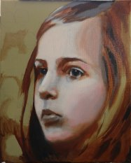 2017-03-08 Portrait - 'Imogen' (Oils) - Part 5a - Adding First Color (2)