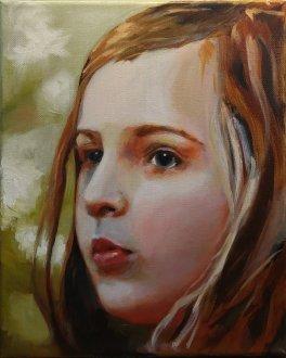 2017-03-12 Portrait - 'Imogen' (Oils) - Part 5e - Adding First Color
