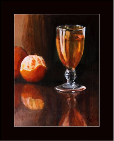 'Wine with Oranges'