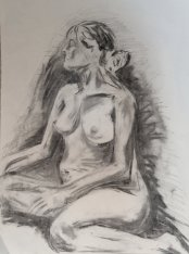 2015 Live Sketch - 'Quick Sketch Woman' (Charcoal)