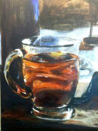 Cup 'O Tea - In Progress 02