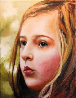 2017-04-01 'Imogen' - Portrait (Oils)