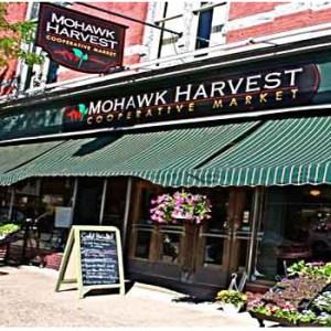 Mohawk Harvest Co-Op Storefront, Gloversville NY.