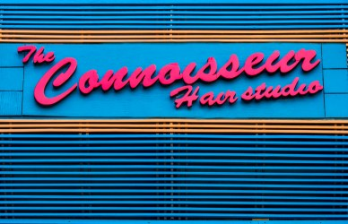 Connoisseur Front Sign