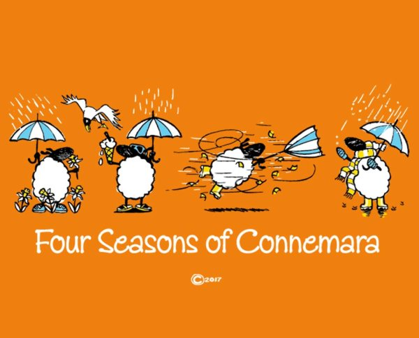 "Connemara clothing ""four seasons of connemara"" t-shirt"
