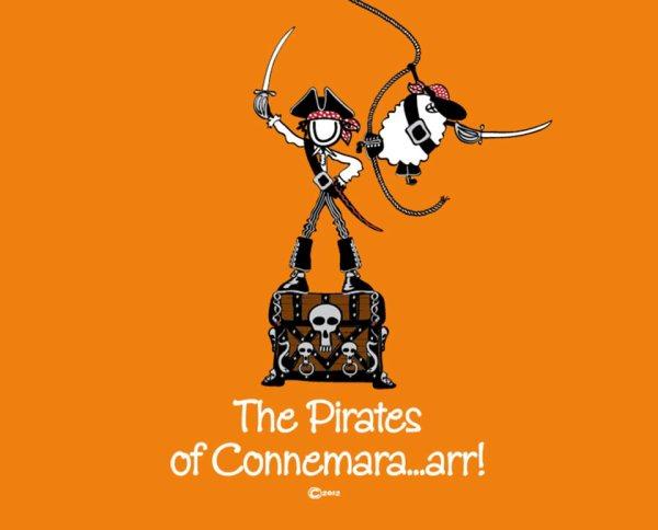 "Connemara clothing ""pirates of connemara"" t-shirt"