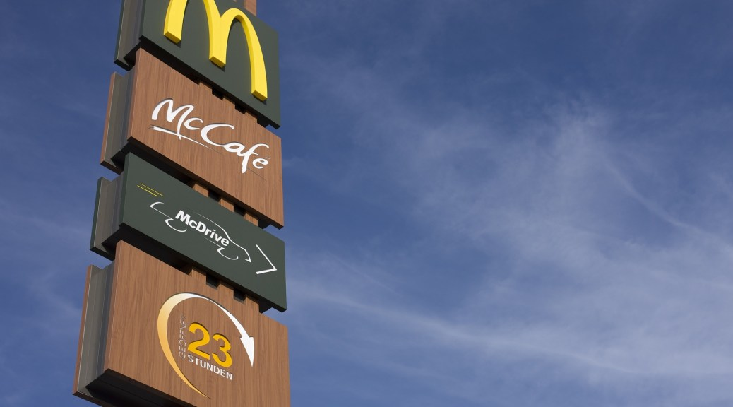 McDonalds-McCafe-Sign-Advertg