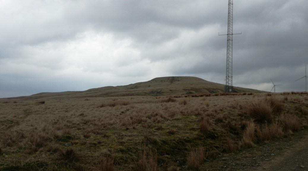 Lost on Scout Moor Wind Farm