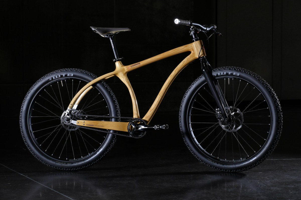 Mountain Cruiser  Connor Wood Bicycles  Wood bikes from