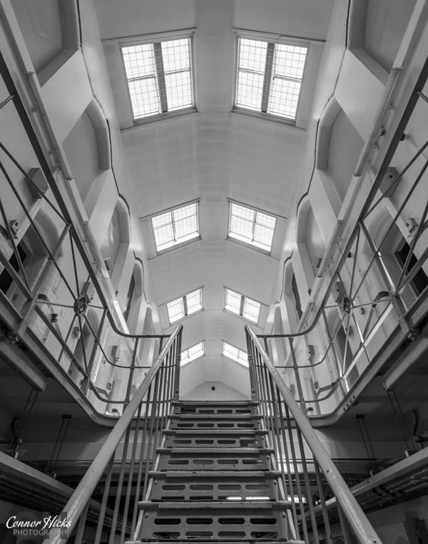 HMP-Kingston-Prison-Hampshire-Urbex-Staircase
