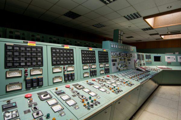 control room diesel farm belgium urbex