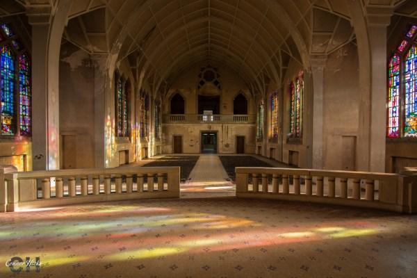 france urbex pensionnat catholique chapel