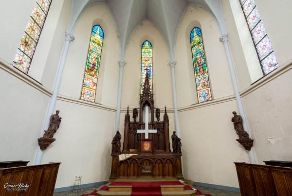 church belgium urbex