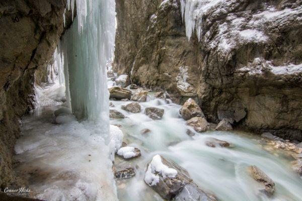 Austria Frozen Gorge