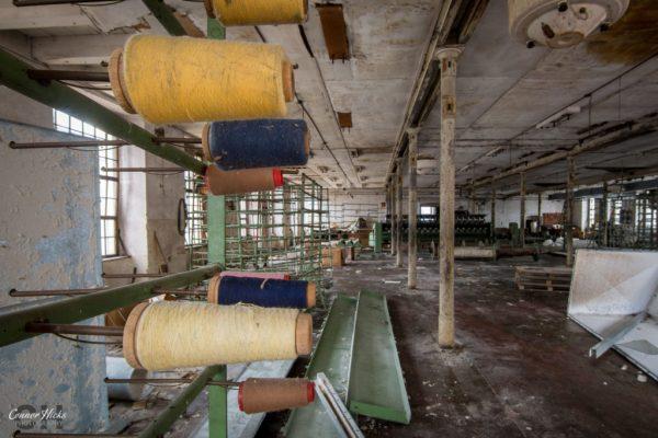 abandoned cotton mill austria