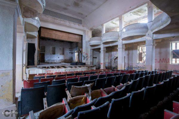 bulgaria urbex soviet theatre