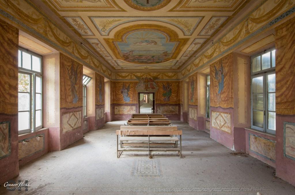 chapel Monastery SB urbex 1024x678 Monastery SB, Italy