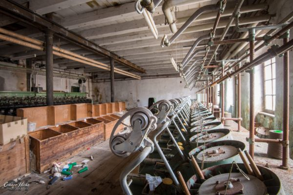 cotton mill austria urbex factory
