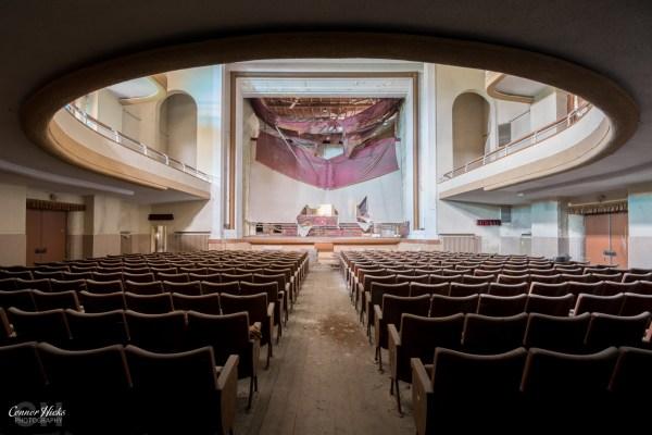 italy urbex theatre