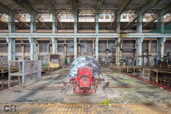 power station hungary urbex turbine