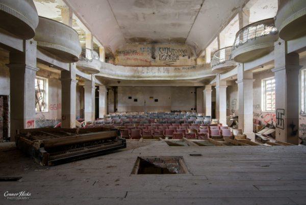 soviet theatre bulgaria urbex