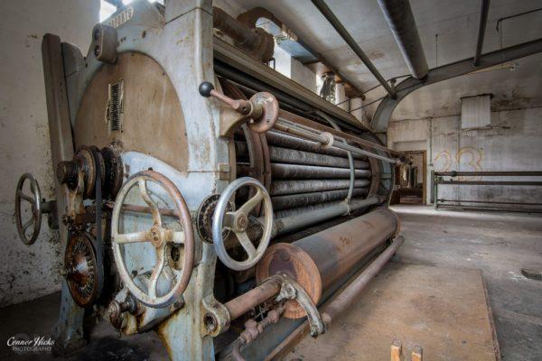 urbex austria cotton factory