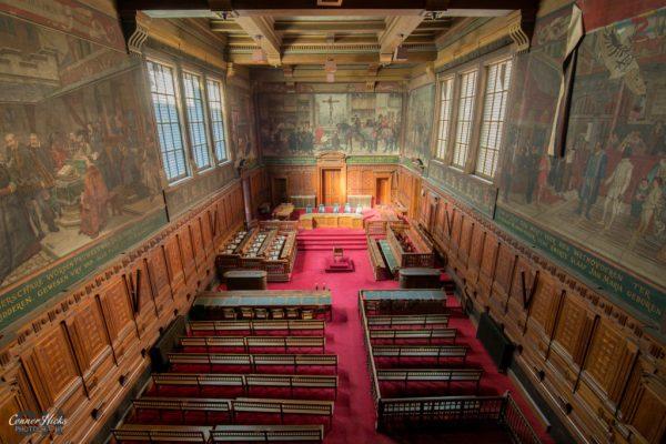 urbex belgium grand courthouse