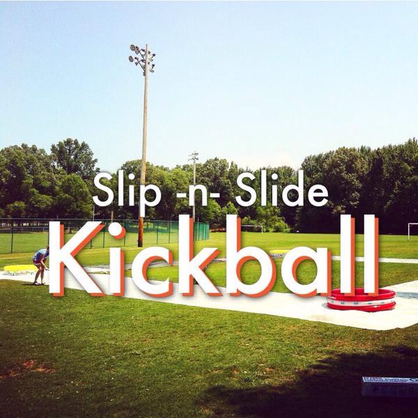 Slip N Slide Kickball  Connors State College