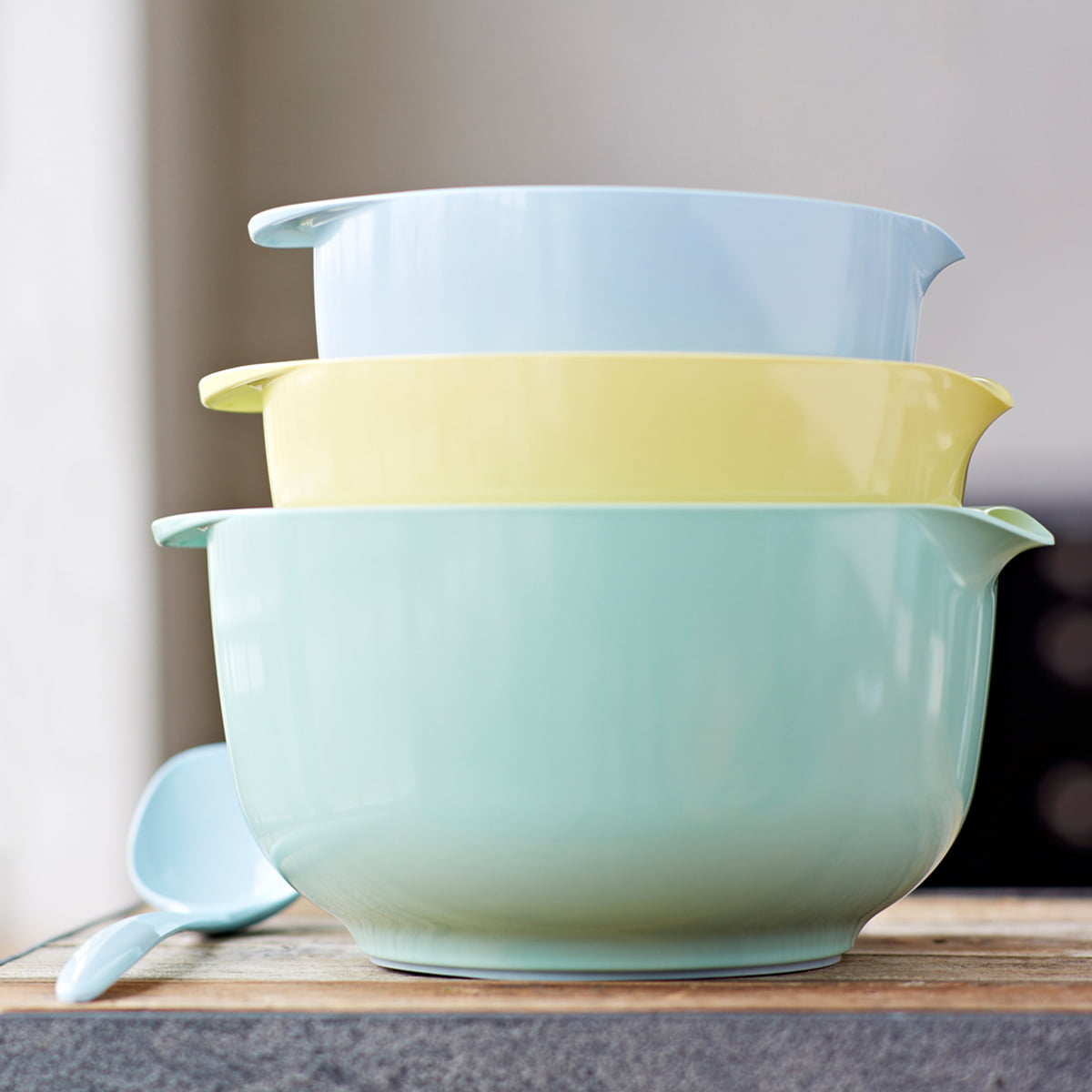 Rhenus Home Delivery Mixing Bowl Margrethe Retro Colours