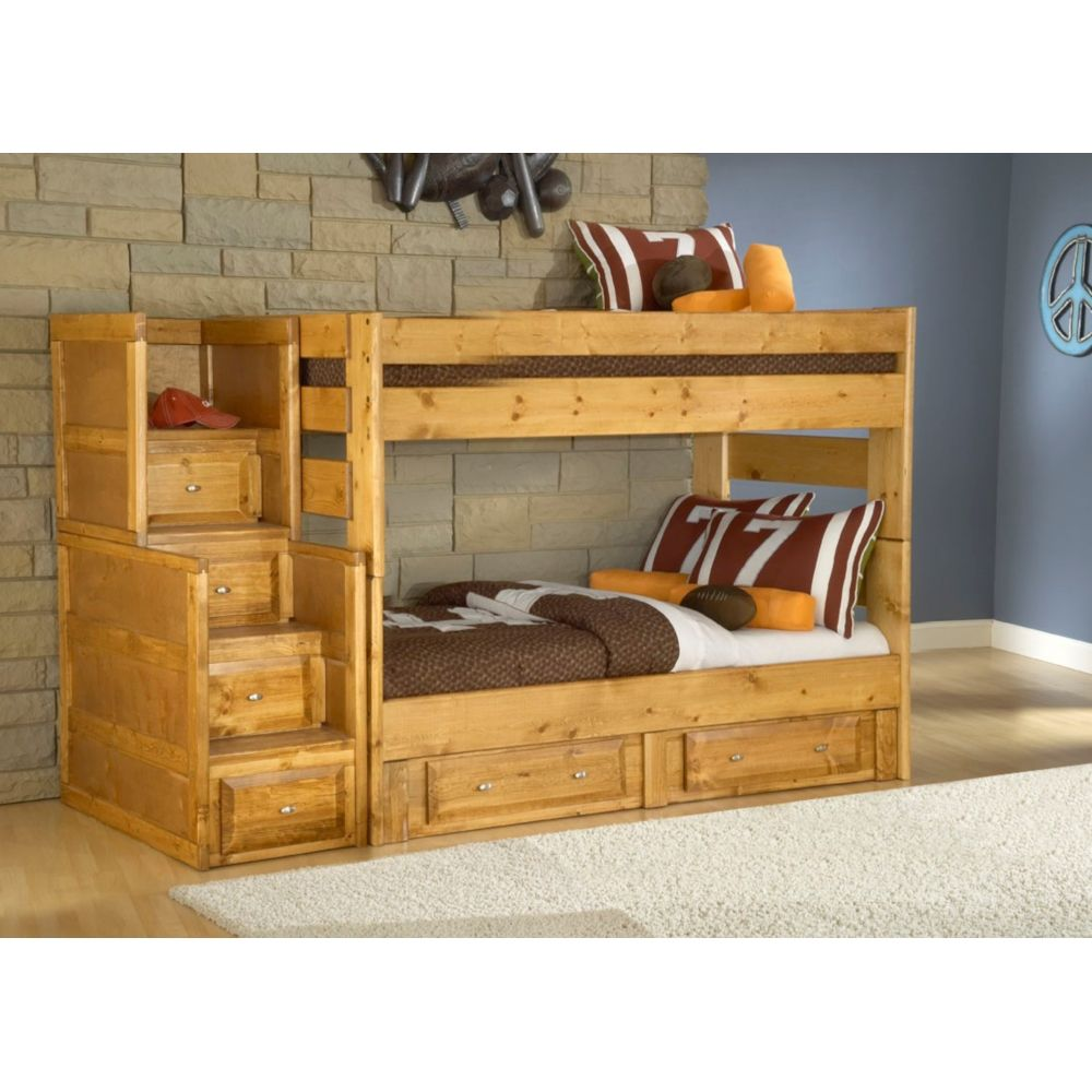 Twin Over Twin Bunk Bed Visions 4710 Conn S