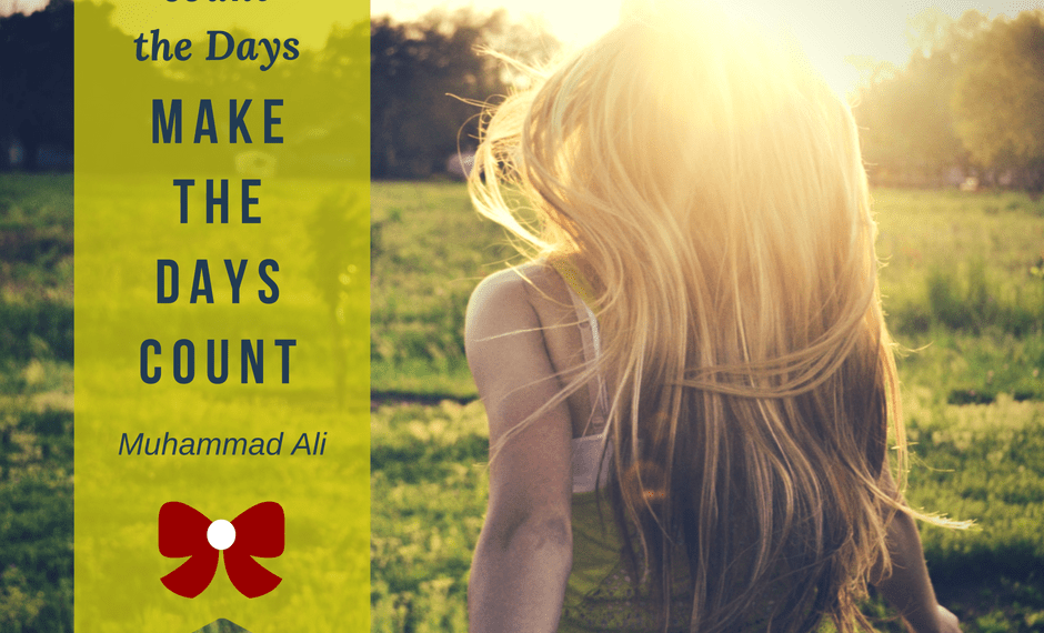 How inspirational quotes used as themes to guide you through your week can help you get unstuck and make the Days count. #grafetized